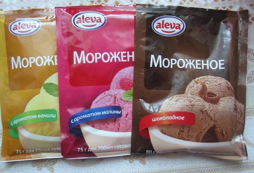 Как сделать мороженое из сухих сливок