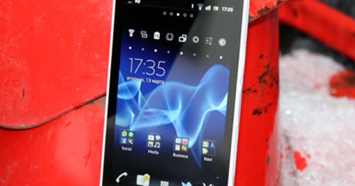 Обзор Sony Xperia S: Android-смартфон с самой мощной камерой (обновлено) - Hi-Tech Mail.Ru