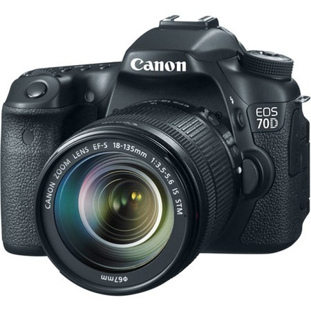 Canon EOS 70D EF-S 18-135mm IS STM Kit