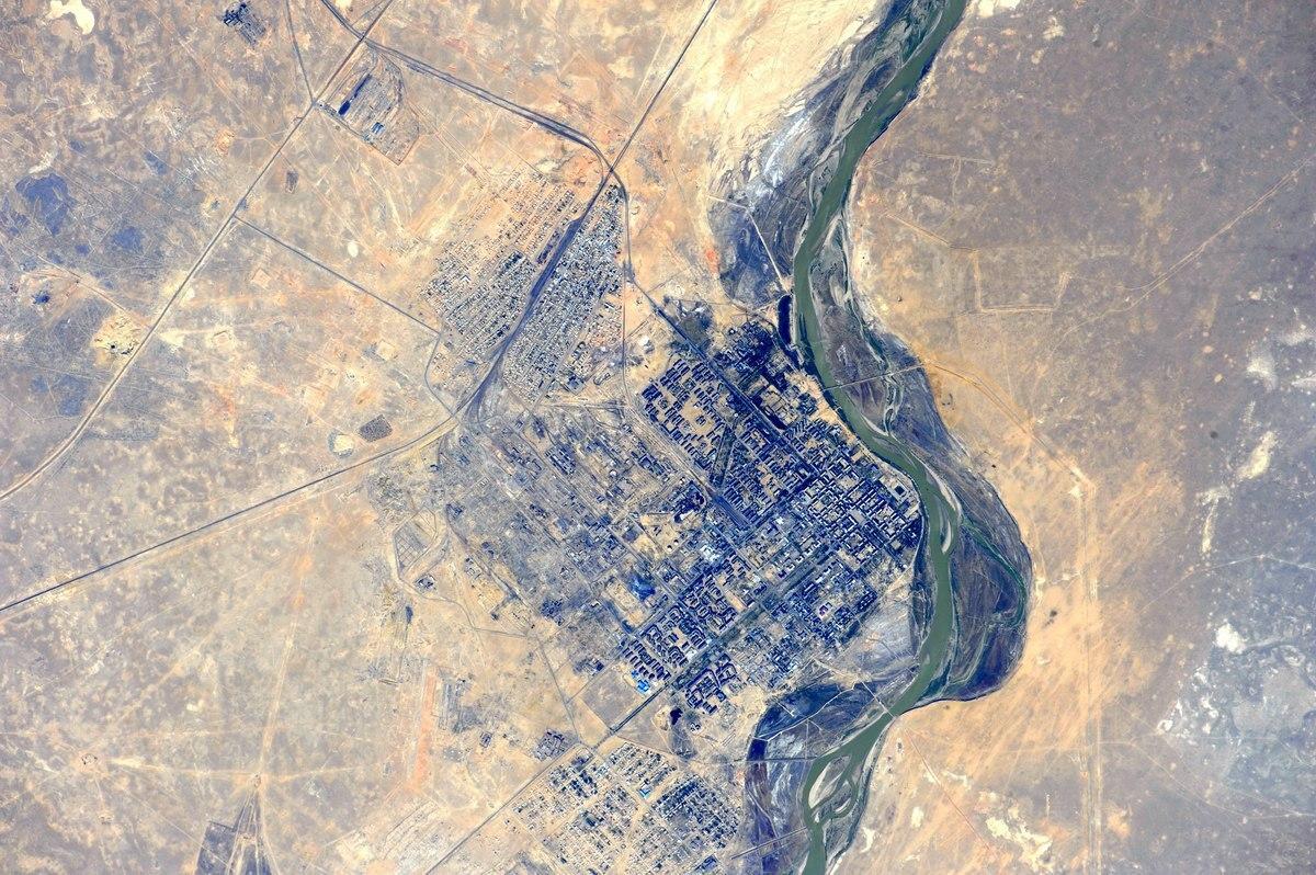 Байконур. Фото космонавта Андрея Борисенко