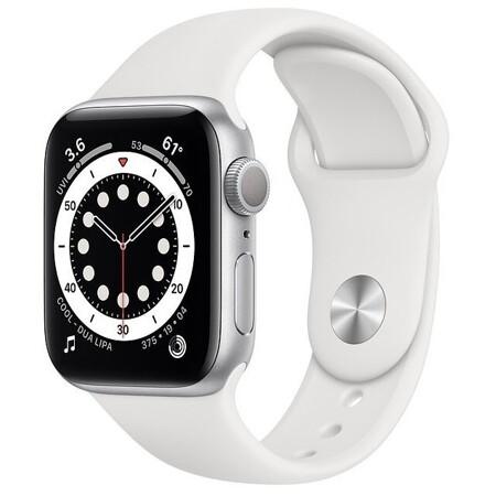 Apple Watch Series 6 GPS 40мм Aluminum Case with Sport Band: характеристики и цены