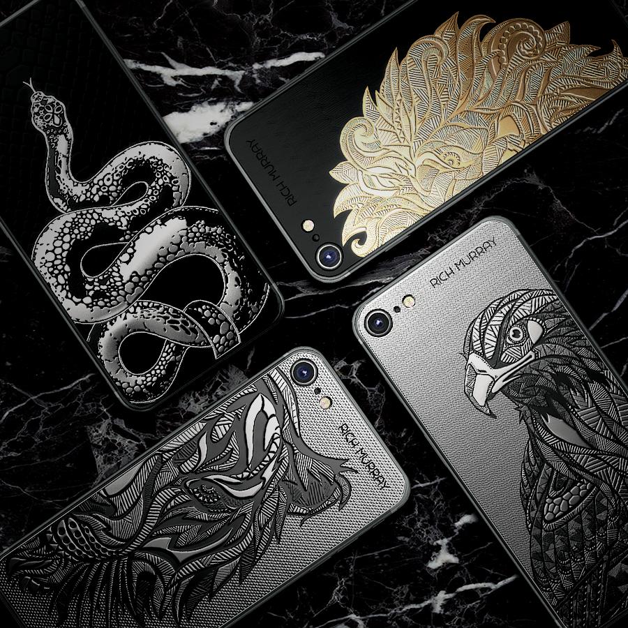 Rich Murray випустив iPhone 7 з рідкісними тваринами