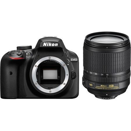 Nikon D3400 18-105VR Kit