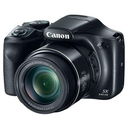 Canon PowerShot SX540 HS: характеристики и цены