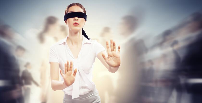 Знакомства для слепых людей