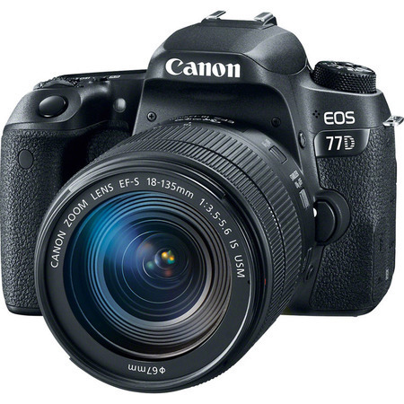 Canon EOS 77D 18-135mm IS USM