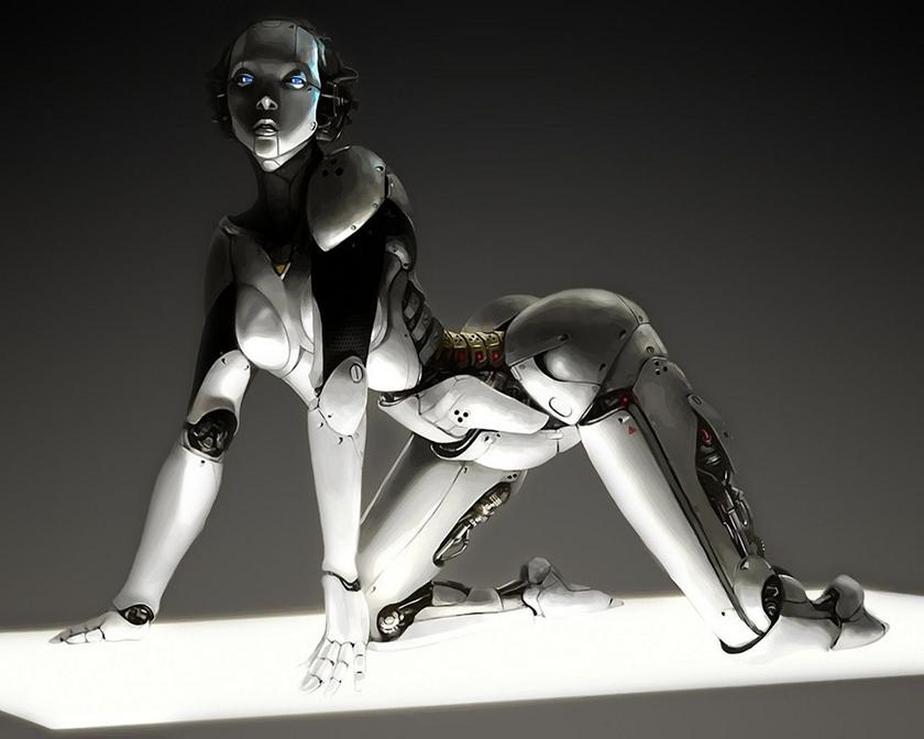 Фото сексуальных роботов
