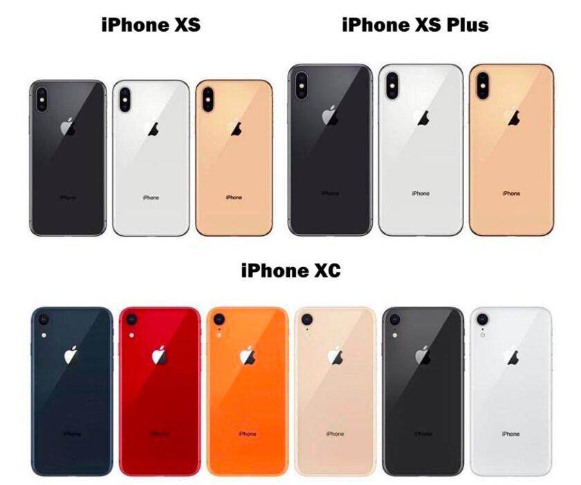 Все слухи про iPhone XS, XS Max и iPhone XR