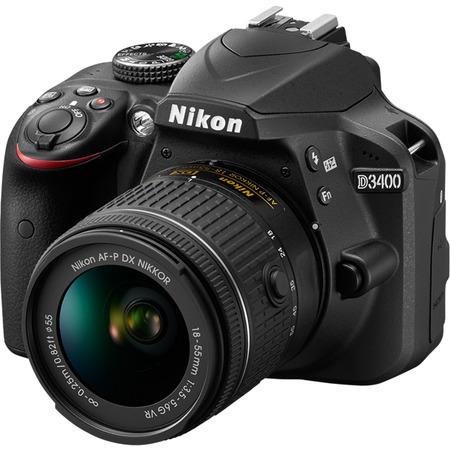 Nikon D3400 + 18-55 VR