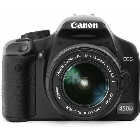 Canon EOS 450D 18-55 IS / 55-250 IS