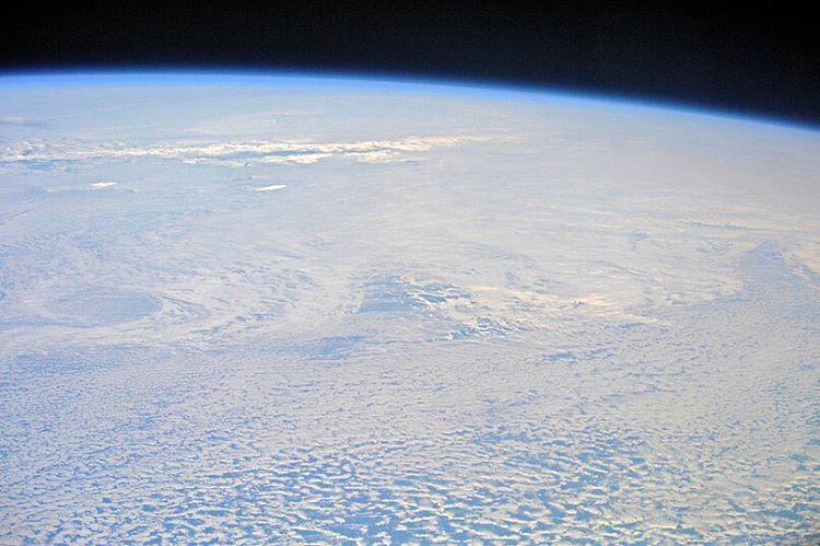 Берега Антарктиды. Фото космонавта Андрея Борисенко