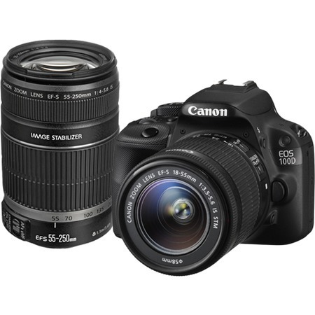 Canon EOS 100D 18-55 IS STM + 55-250mm F4-5.6 IS II