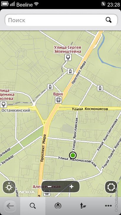 карты наложена карта метро