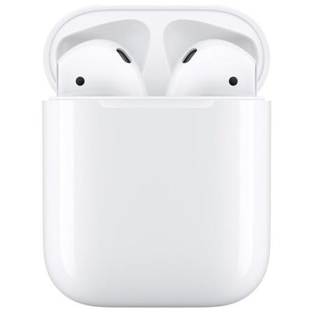 Apple AirPods 2 с зарядным футляром MV7N2: характеристики и цены