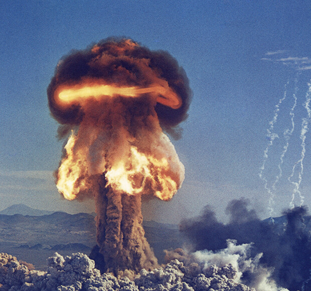 What happens if you drop a nuclear bomb on a hurricane