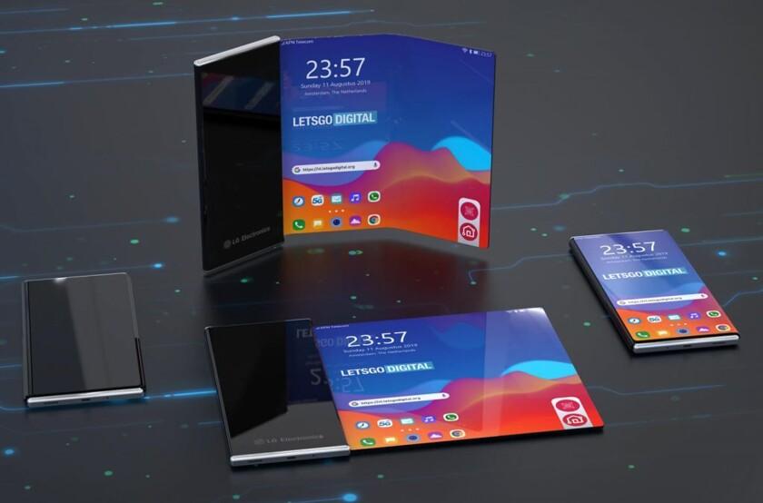 Смартфон-рулон от LG