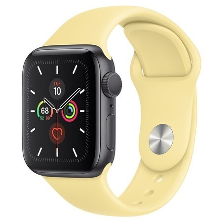 Apple Watch Series 5 GPS 44mm Aluminum Case with Sport Band
