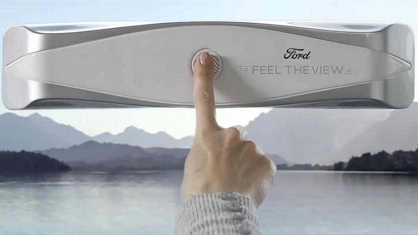 Ford запатентовал «умные» окна для слабовидящих пассажиров