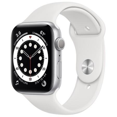 Apple Watch Series 6 GPS 44мм Aluminum Case with Sport Band: характеристики и цены