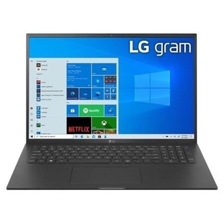 "LG gram 17Z90P-G (Intel Core i7 1165G7 2800 MHz/16""/2560x1600/16GB/1TB SSD/DVD нет/Intel Iris Xe Graphics/Wi-Fi/Bluetooth/Windows 10 Home): характеристики и цены"