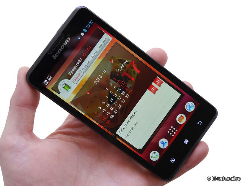 b2327744c6e4f5 Обзор Lenovo P780: смартфон с огромным аккумулятором - Hi-Tech Mail.ru