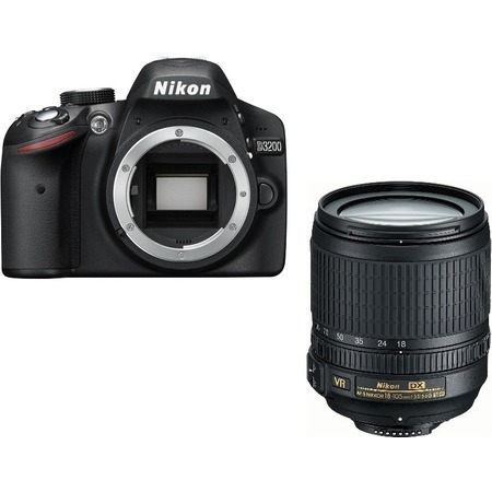 Nikon D3200 18-105 VR