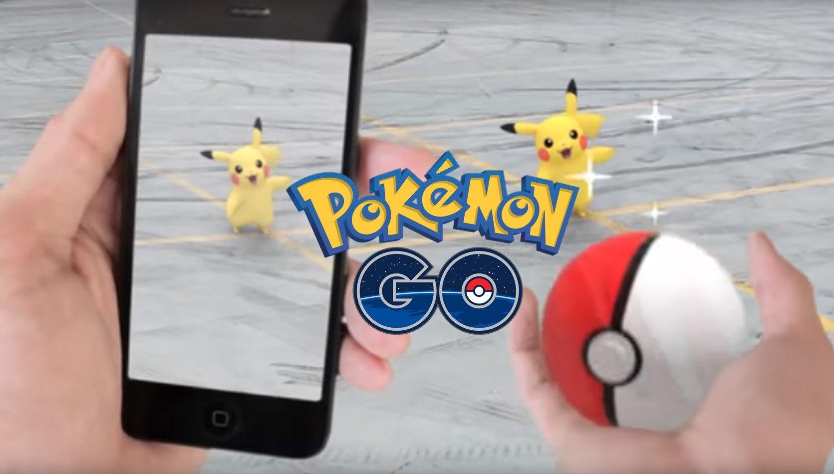 Установка Pokemon Go
