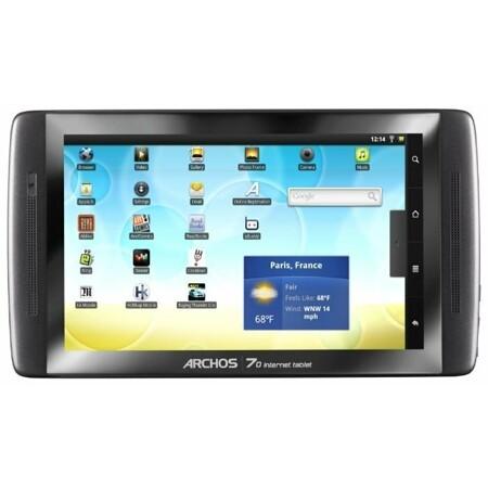 Archos 70 internet tablet 250Gb: характеристики и цены
