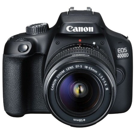 Canon EOS 4000D Kit: характеристики и цены