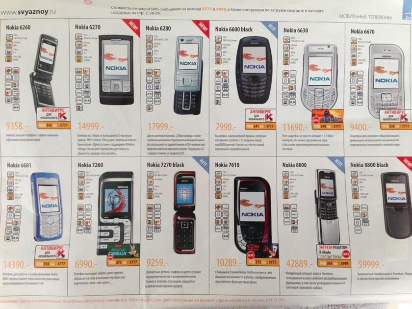 фото цены телефон