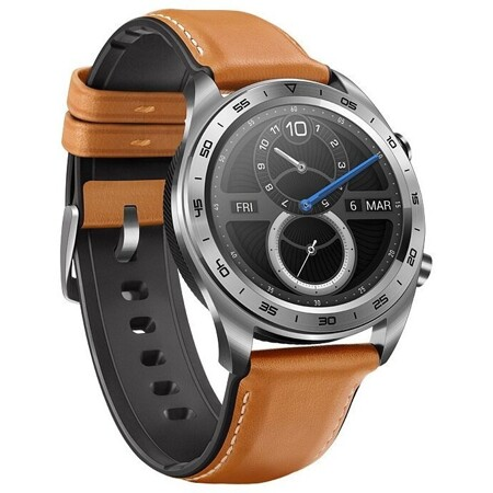 HONOR Watch Magic (stainless steel, leather strap): характеристики и цены