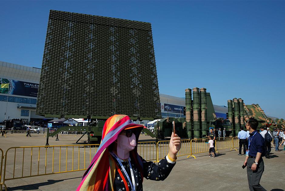 Китайский радар
