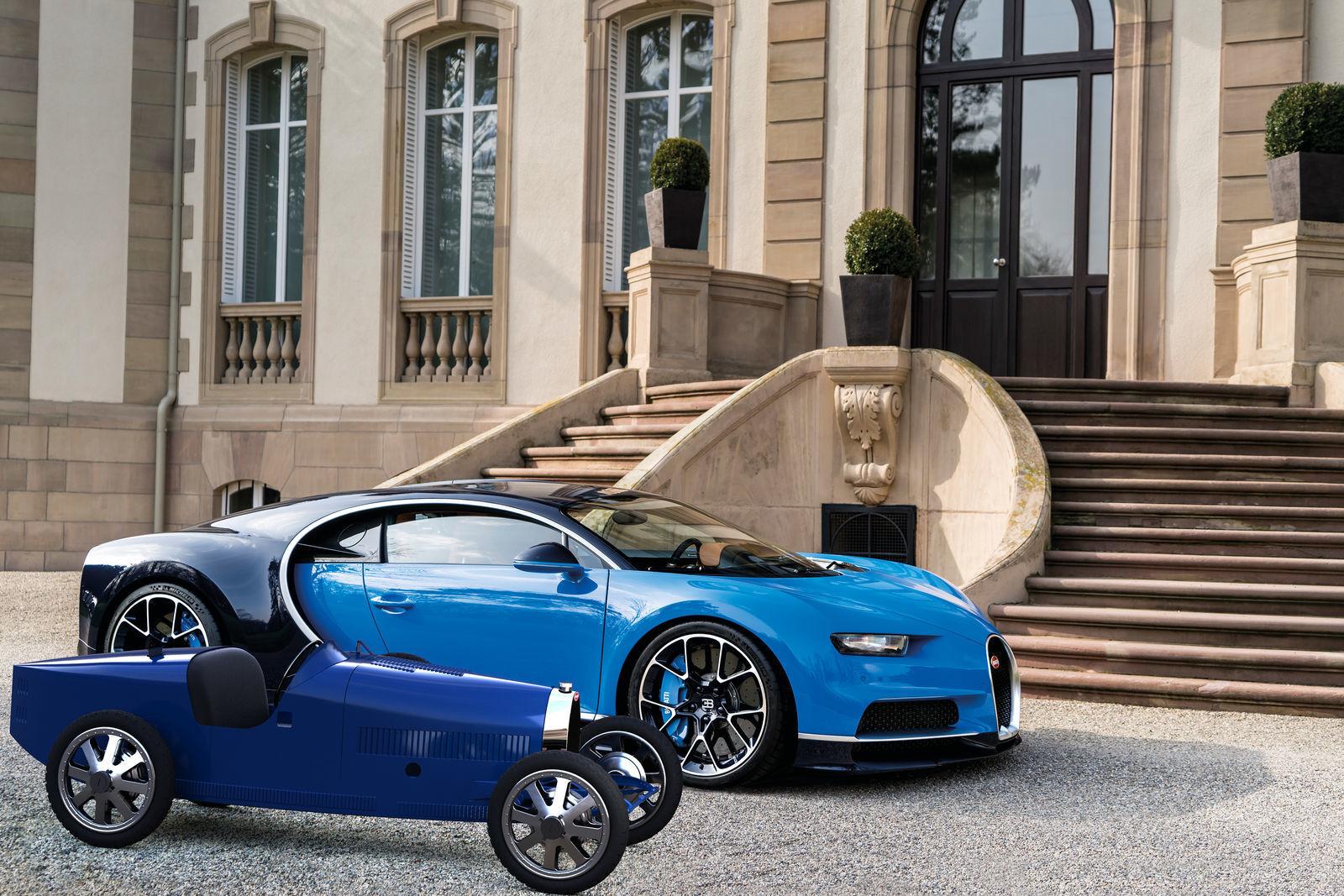 Bugatti Baby II - новая игрушка для богатых детей