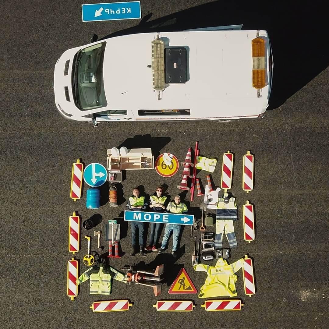 Строители трассы «Таврида». Фото: Керчь Инфо