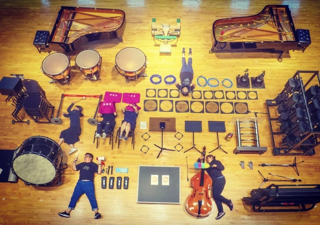 Музыканты из Синьчжуанского оркестра (Китай). Фото: Instagram @xingzhuang_cultural_art_center