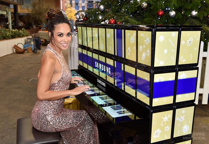 Пианино из Galaxy Tab S2
