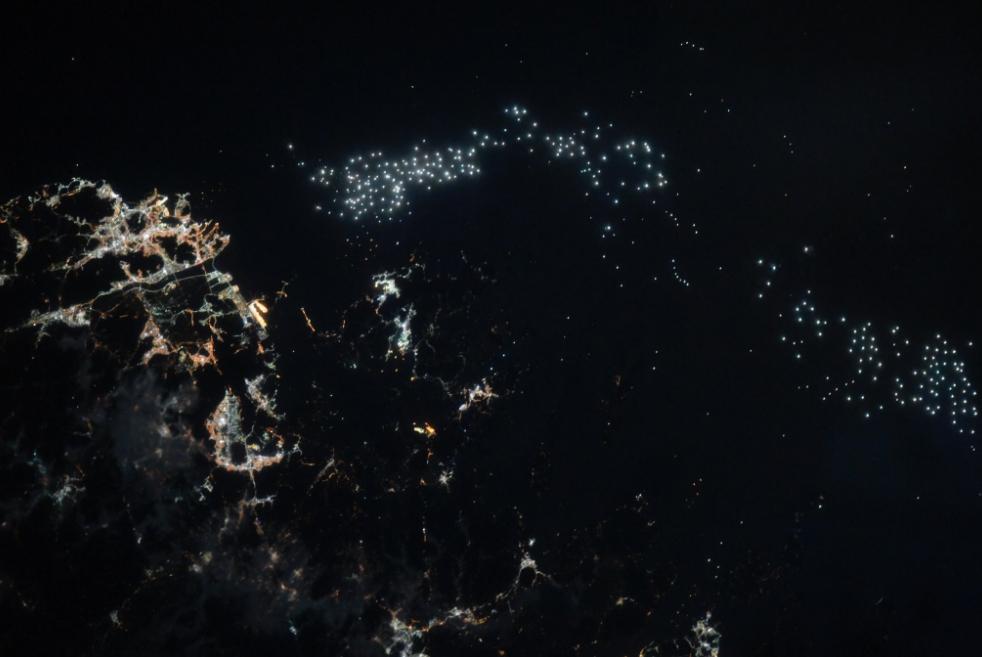 Фото из космоса МКС