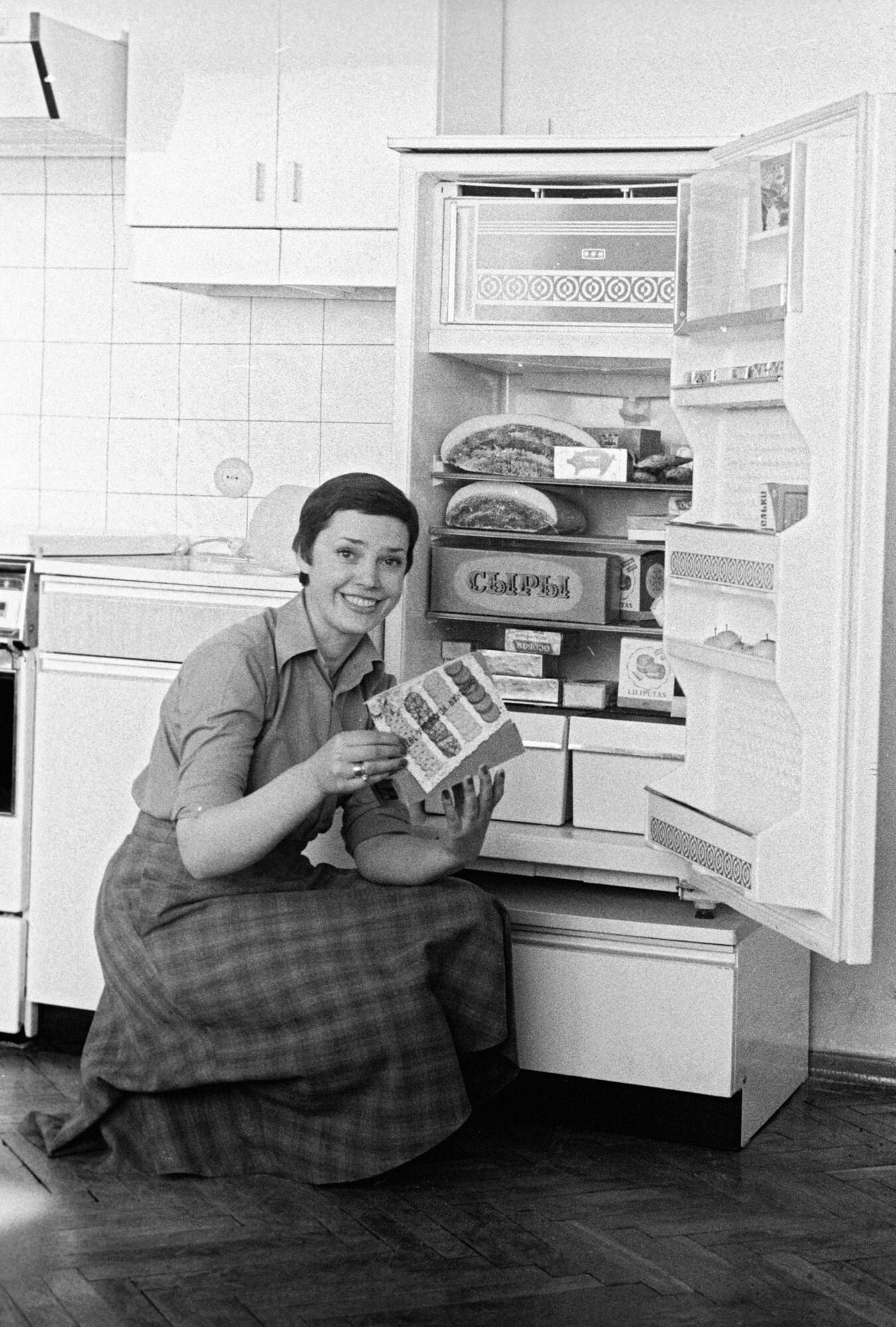 Легендарный холодильник Минского завода.