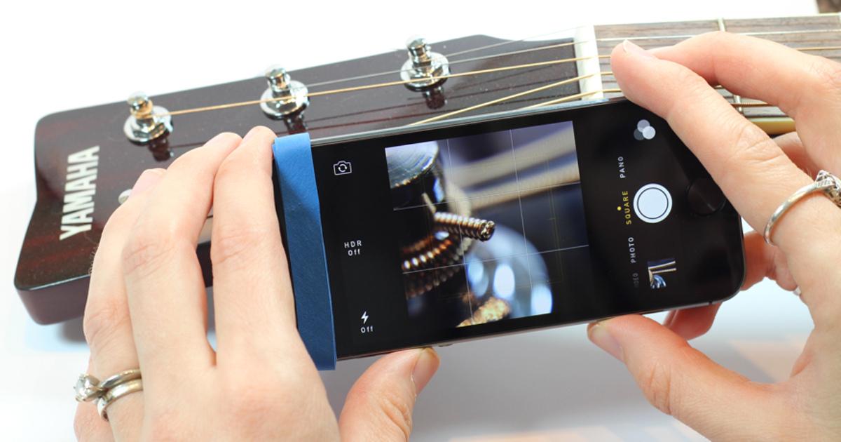 Как сделать макро фото на телефон круг выполняемых
