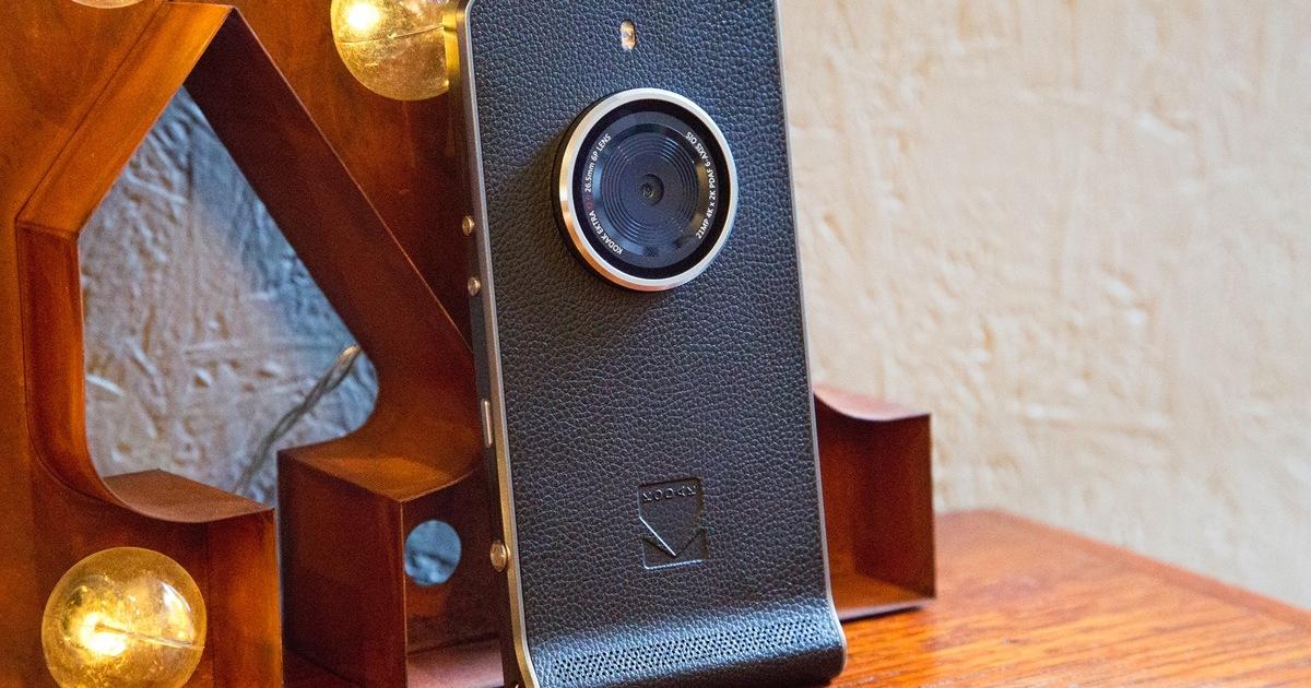 Kodak возродила всмартфоне Ektra легендарную серию фотокамер