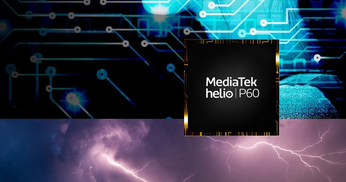 MediaTek представила процессор Helio P60 споддержкой искусственного интеллекта