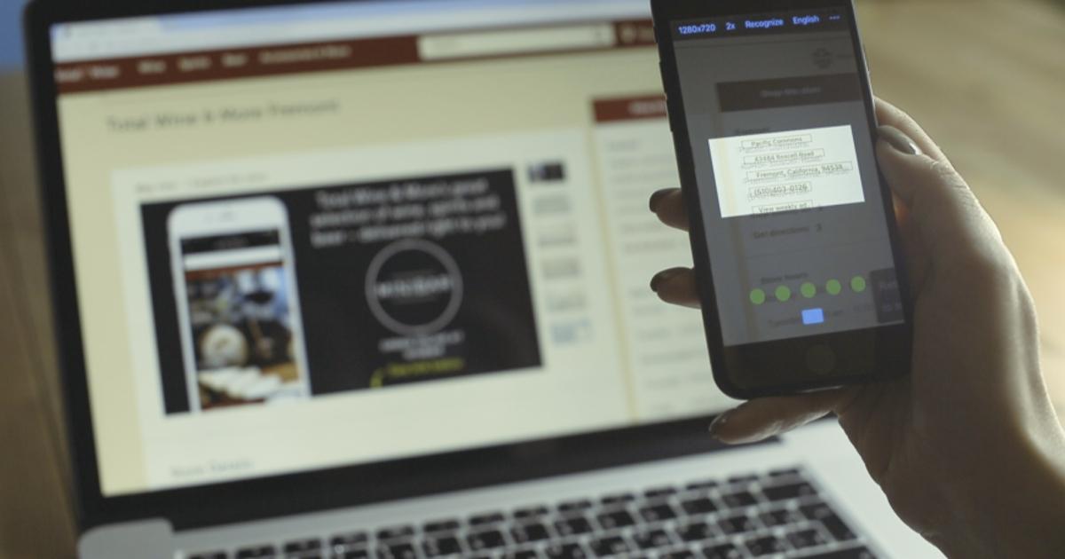 Смартфоны вРоссии научили мгновенно распознавать текст