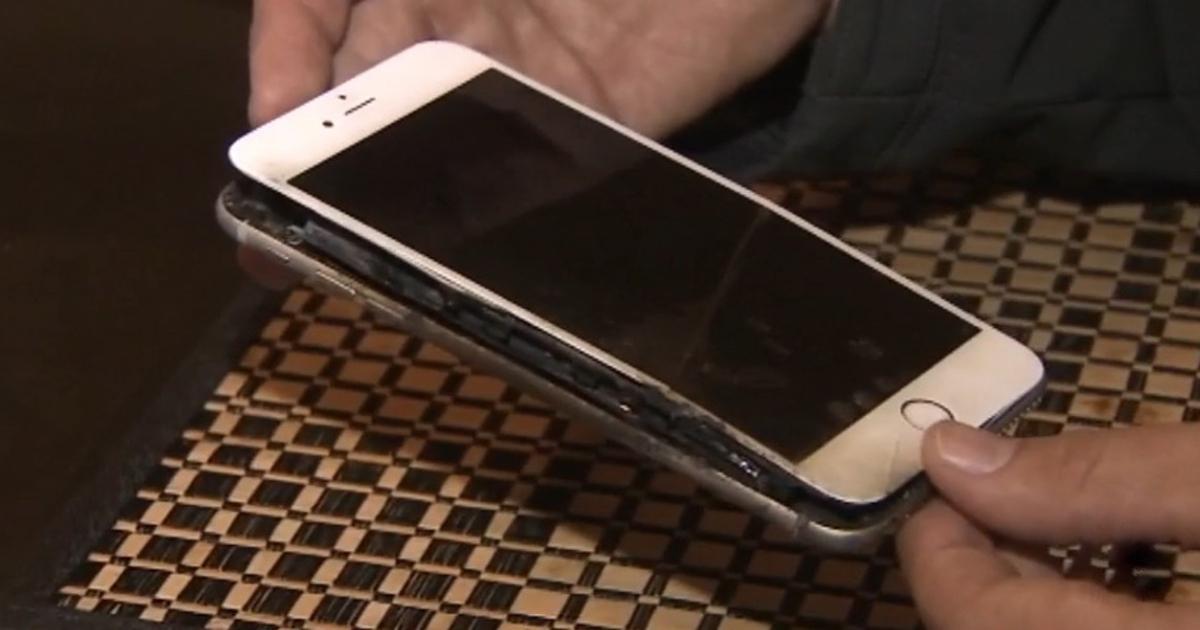 Восстановленный iPhone загорелся в кармане американца