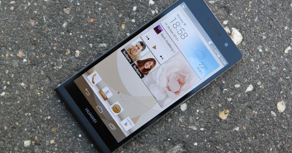 Обзор Huawei Ascend P6. Самый тонкий смартфон в мире