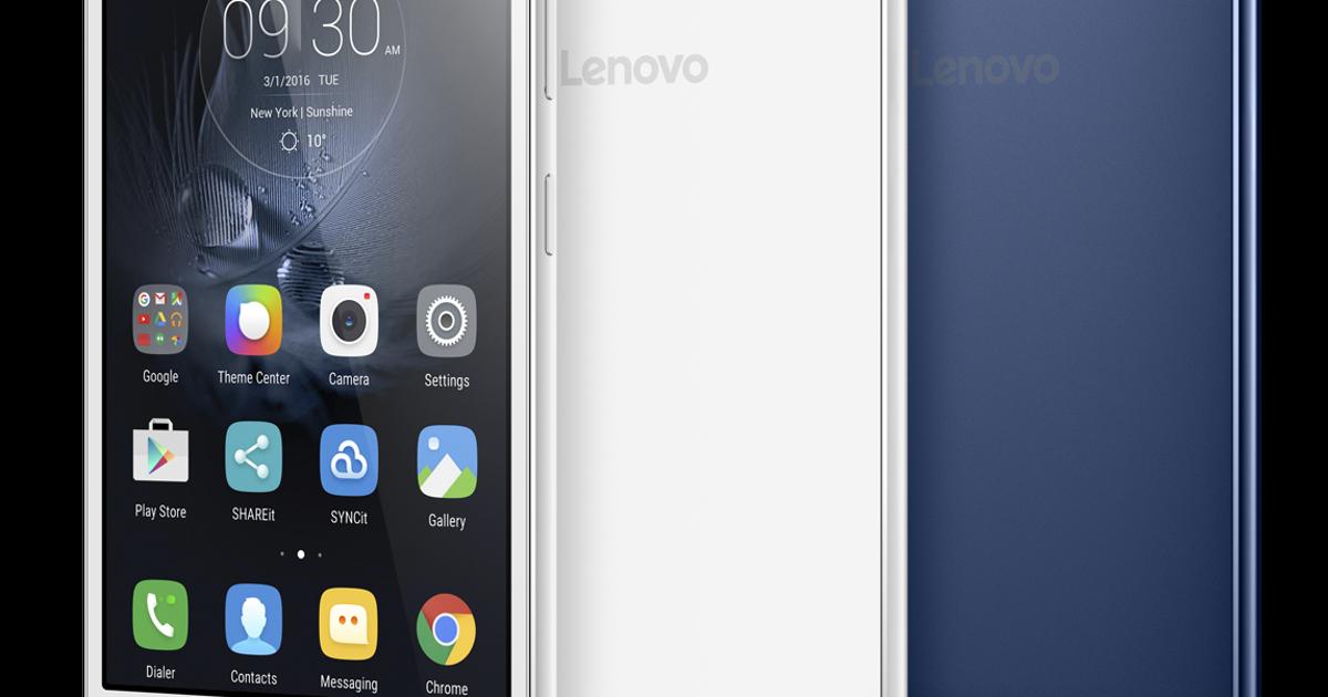 Lenovo показала на CES 2016 смартфон для селфи в темноте