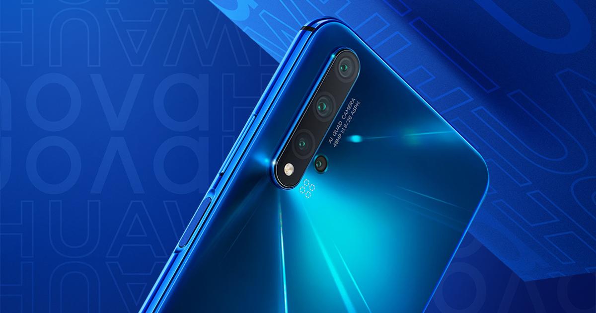 Футуристический дизайн имного камер: вРоссии представлен смартфон Huawei Nova 5T