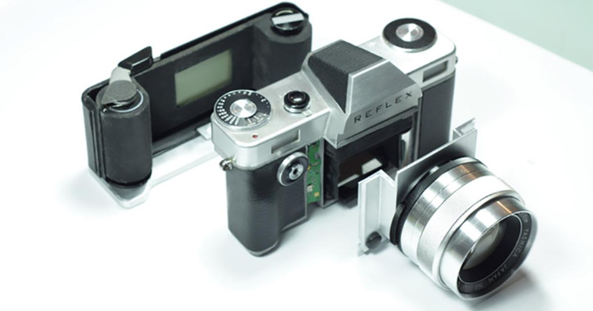 НаKickstarter появился проект модульного пленочного фотоаппарата