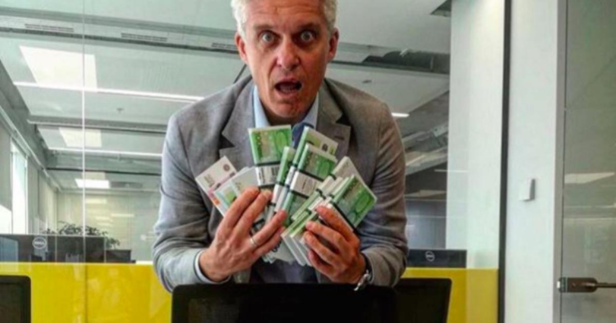 Фото: Тиньков обещает заплатить заудаление Telegram