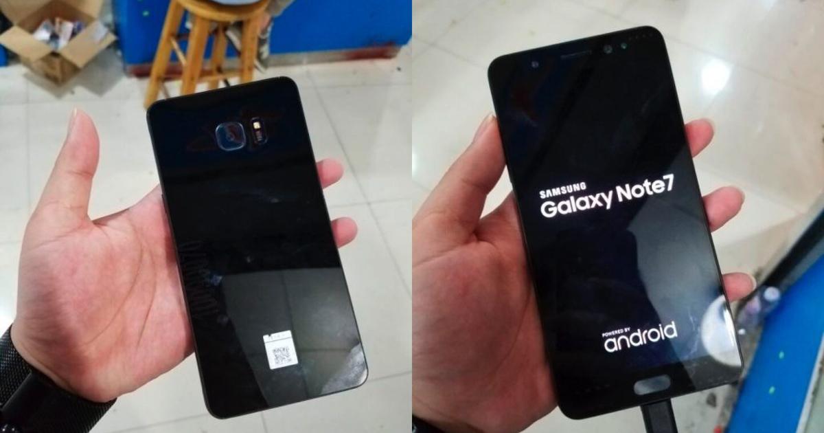 Samsung может выпустить две версии Galaxy Note 7
