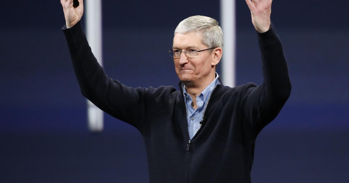 Чистая прибыль Apple вРоссии выросла в900 раз